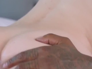 blacked she's never had bbc and wanted to treat herself