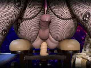 Hot Anal cumming fuck machine sissygasm deep fuck booty ( femboy trap sissy )