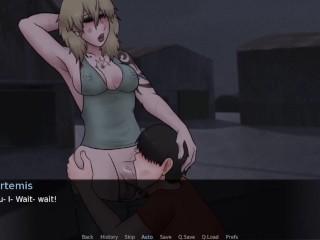 Throat poked By Artemis At The Harbor - Futadom World