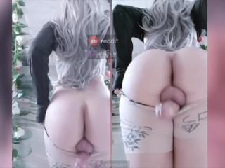 Jenna Trap - ass jizz