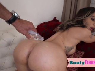 massive booty latina lady boy anally fingered before oral sex