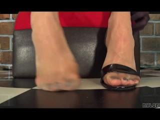platino nylon feet