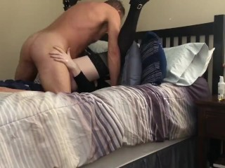 Sissy bitch Dani nailed Hard First Time