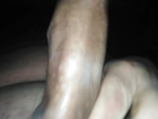 young bf RED POLISHED NAILS MASTURBATES HIS HARD penis sleazy DGB sperm