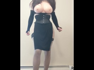Super humongous breasts! (Sorry for the blur at the beginning)