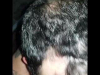 My very first ever, personal amateur facial compilation, jizz whore,